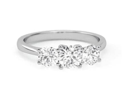 Sidestones $15,000 Engagement Ring