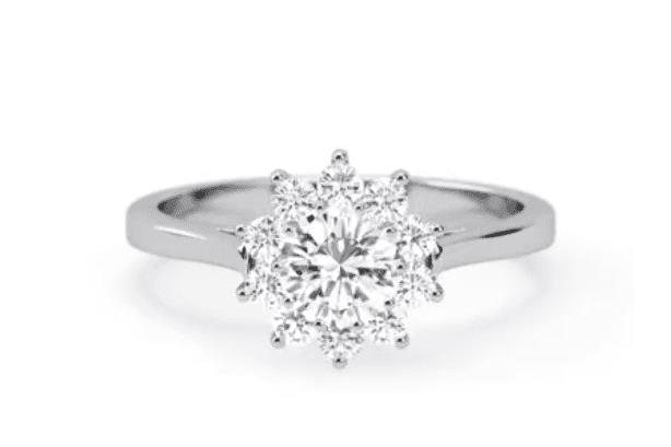 Vintage $15,000 Engagement Ring